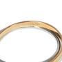Authentic Second Hand CK Calvin Klein 2 Toned Coil Bracelet (PSS-190-00030) - Thumbnail 3
