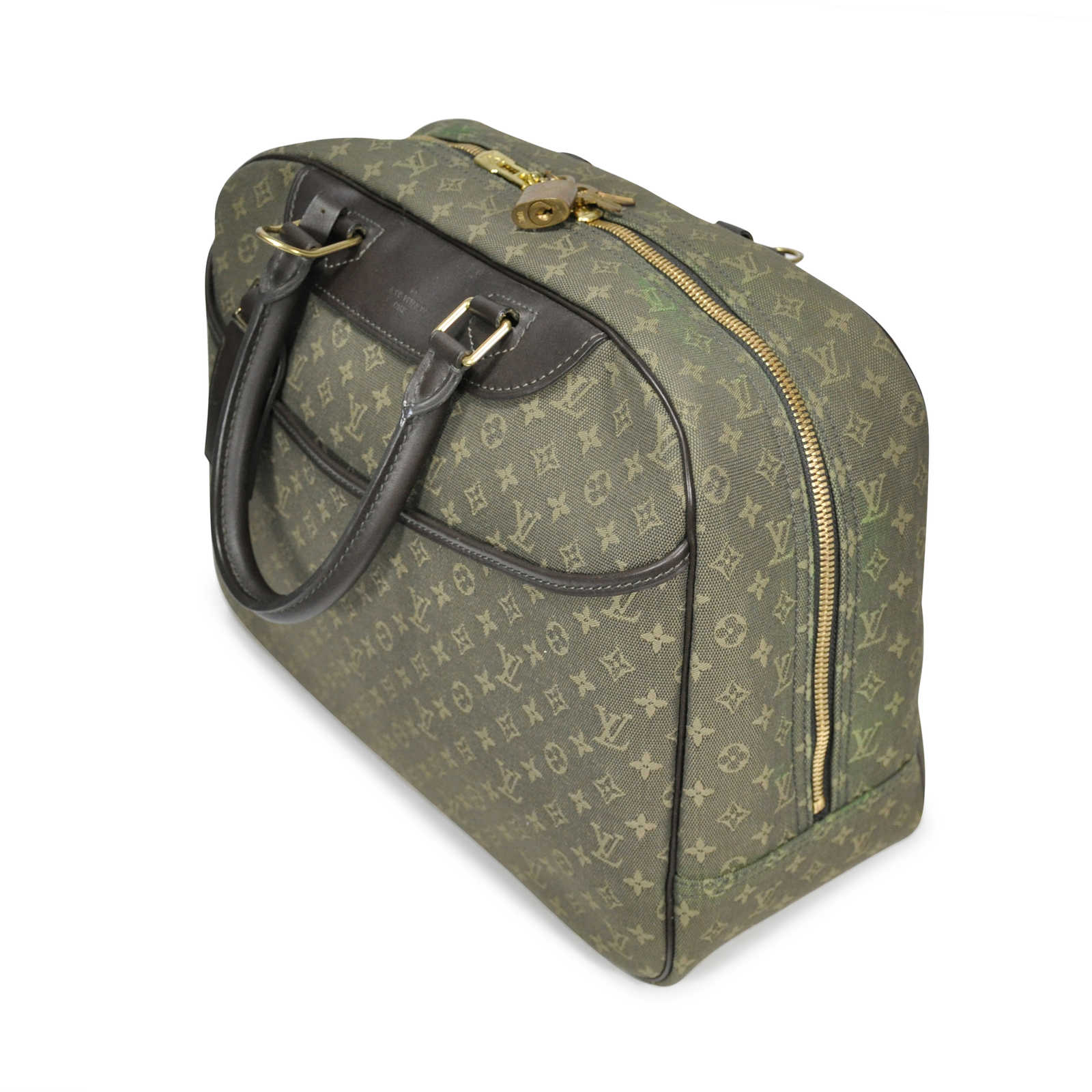 ... Authentic Second Hand Louis Vuitton Deauville Monogram Bowling Vanity  (PSS-200-00009) ... f399ee1ee5ae7