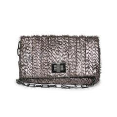 Shirred Leather Roslyn Bag