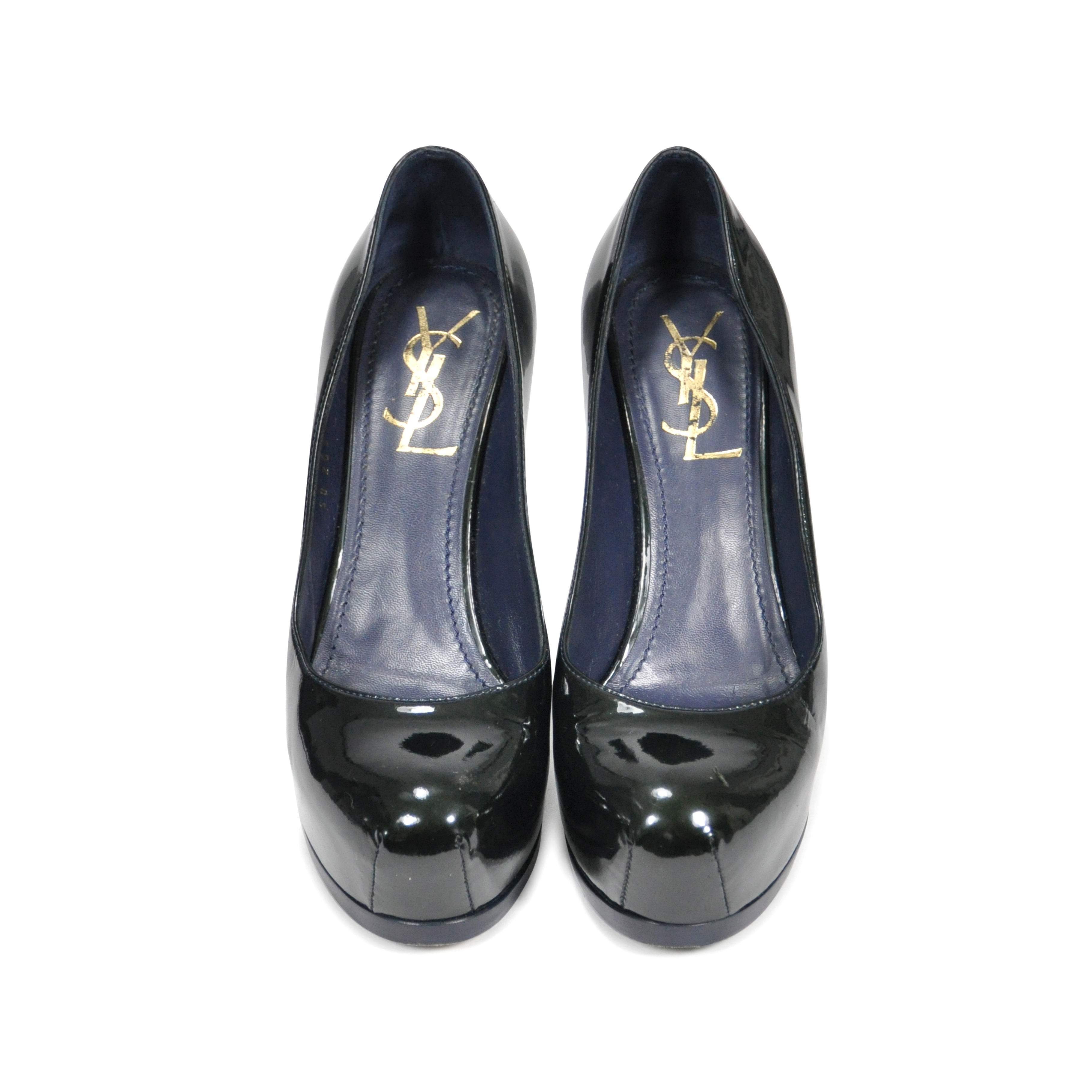 26c13e48bf87 ... wholesale authentic pre owned yves saint laurent tribtoo pumps pss 235  00010 the fifth collection 68a2c