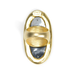 Kenneth jay lane large oval ring 2