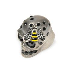 Alexander mcqueen skull and bee ring 2