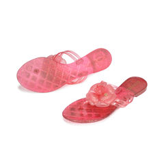 Chanel camellia glitter thong sandals 2