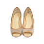 Authentic Second Hand Giuseppe Zanotti Suede Peep Toe Pumps (PSS-235-00006) - Thumbnail 0