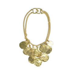 Kenneth jay lane double strand necklace 2