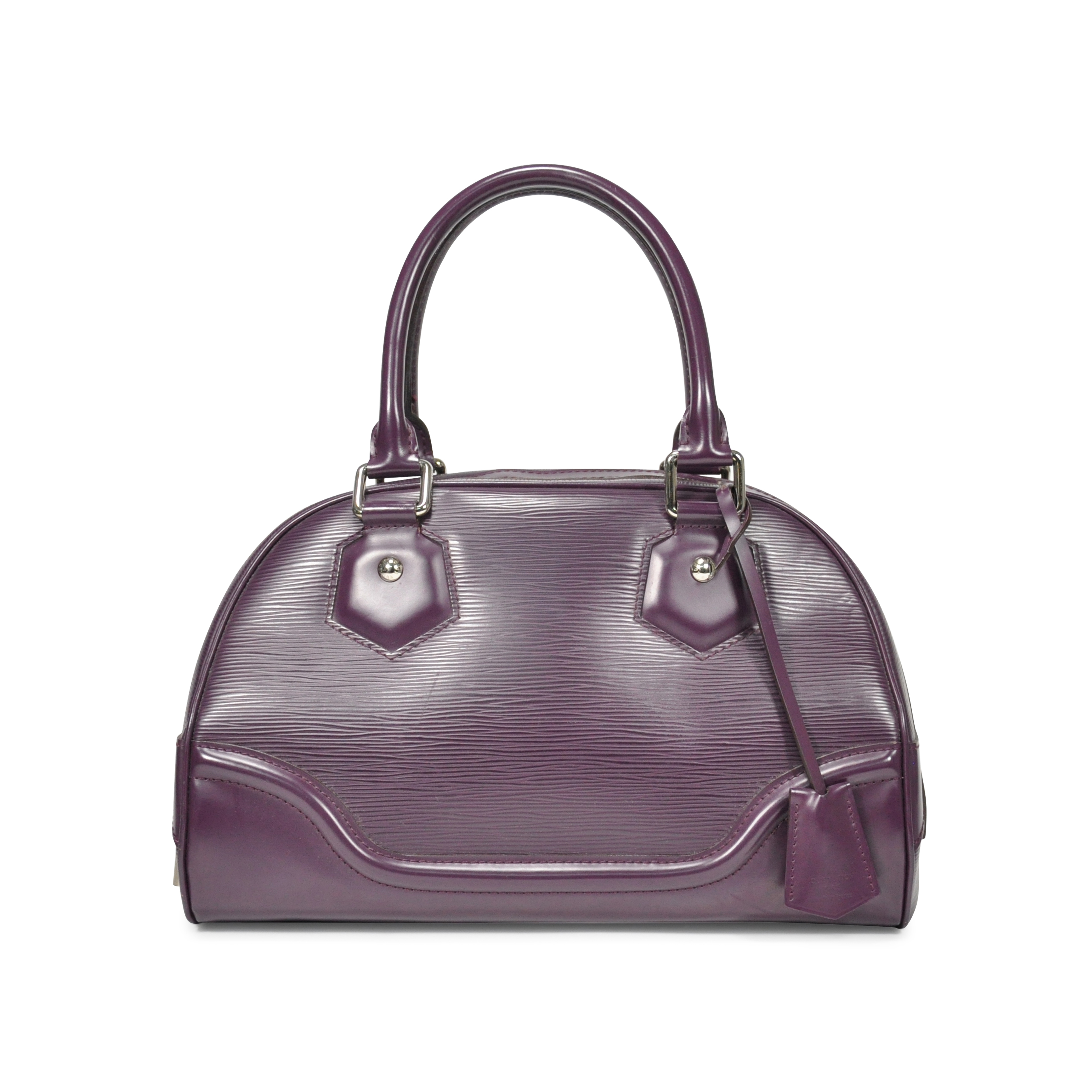 a522664821df Authentic Second Hand Louis Vuitton Epi Leather Bowling Montaigne Bag  (PSS-237-00005)