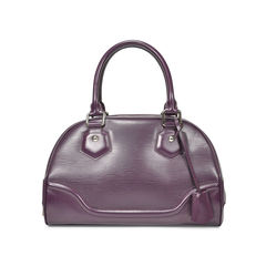 Epi Leather Bowling Montaigne Bag