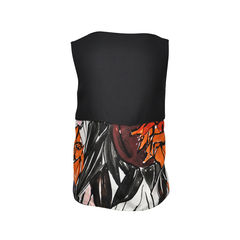 Christian dior abstract print top 2