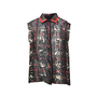 Authentic Second Hand Preen by Thornton Bregazzi Tartan Leopard Shirt (PSS-235-00032) - Thumbnail 0