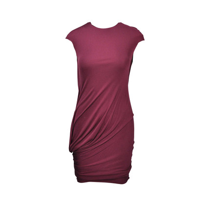 Alexander Mcqueen Jersey Draped Dress
