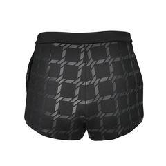 T alexander wang grid print shorts 2
