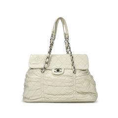 Ruched Quilt Shoulder Bag