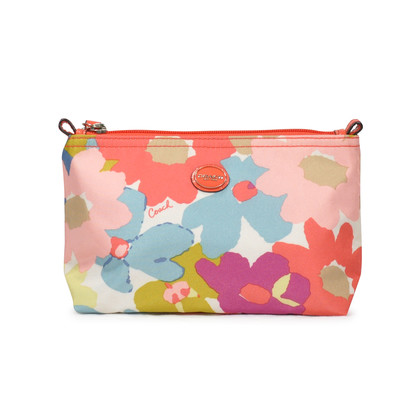 Authentic Second Hand Coach Floral Toiletry Bag (PSS-233-00027)