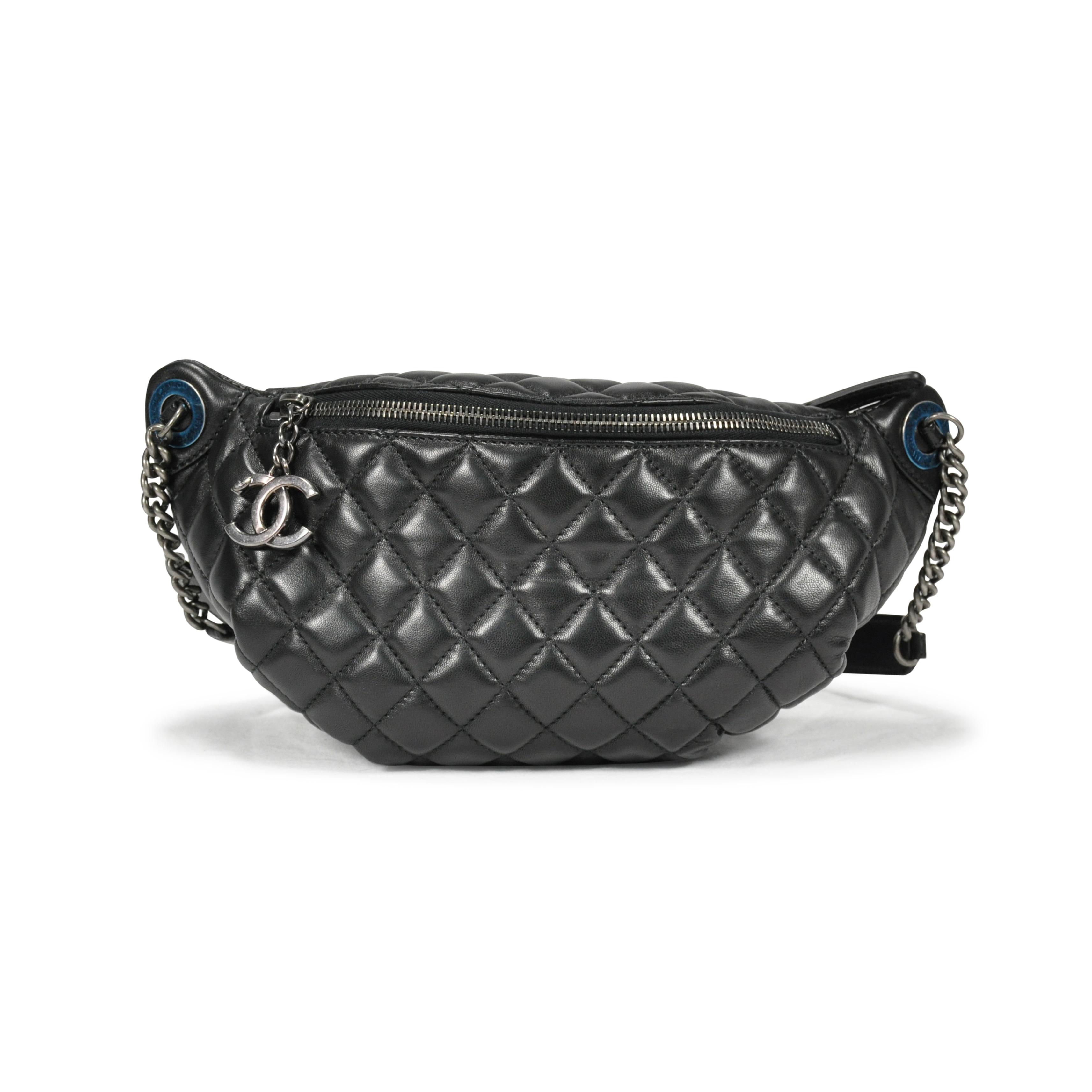 6b65d7e41de63 Authentic pre owned chanel quilted fanny pack waist bag the fifth  collection jpg 3426x3426 Chanel belt