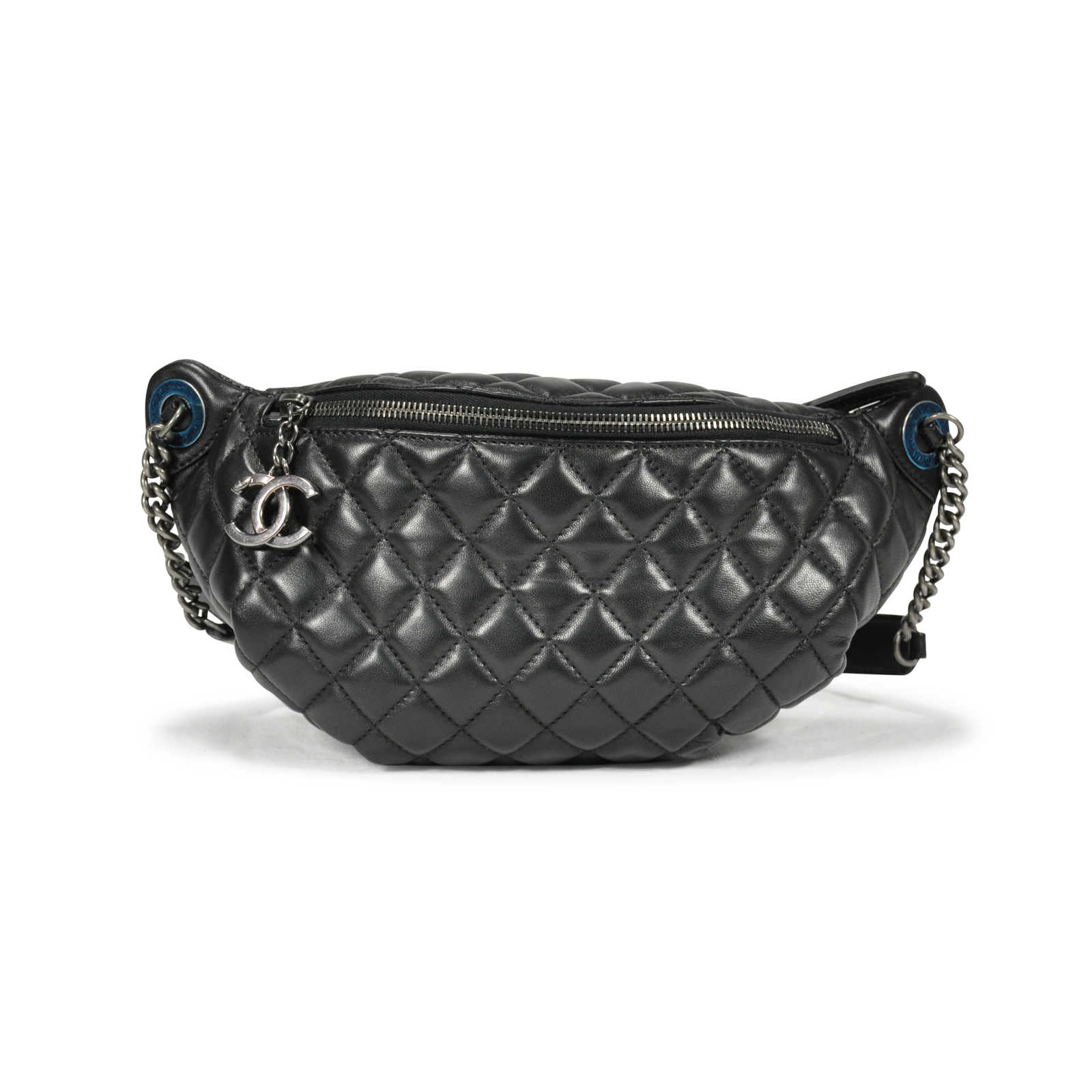 f45d8eba Authentic Second Hand Chanel Quilted Fanny Pack Waist Bag (PSS-145 ...