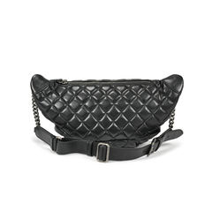Chanel quilted fanny pack waist bag 2