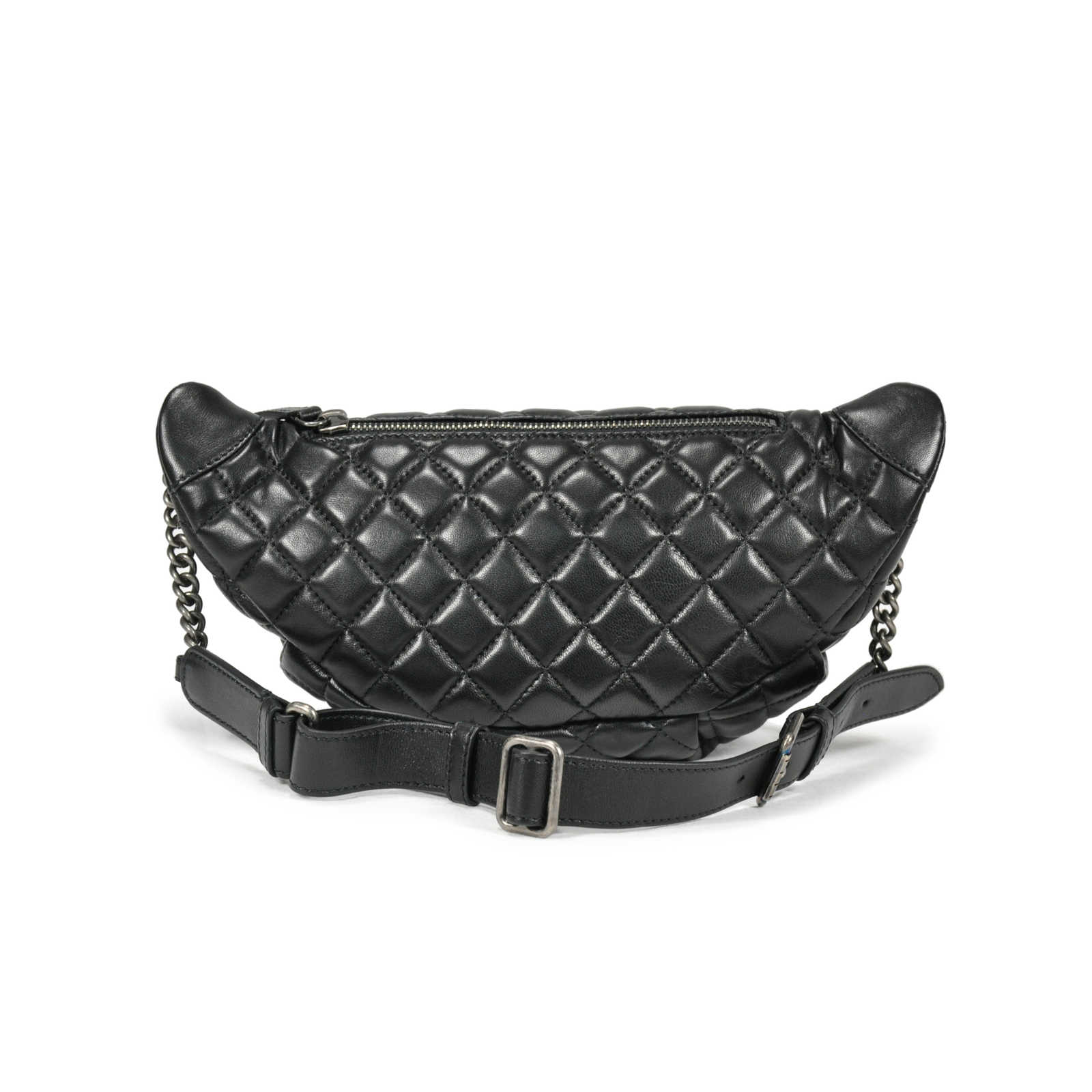 4a4687a85 ... Authentic Second Hand Chanel Quilted Fanny Pack Waist Bag  (PSS-145-00087) ...