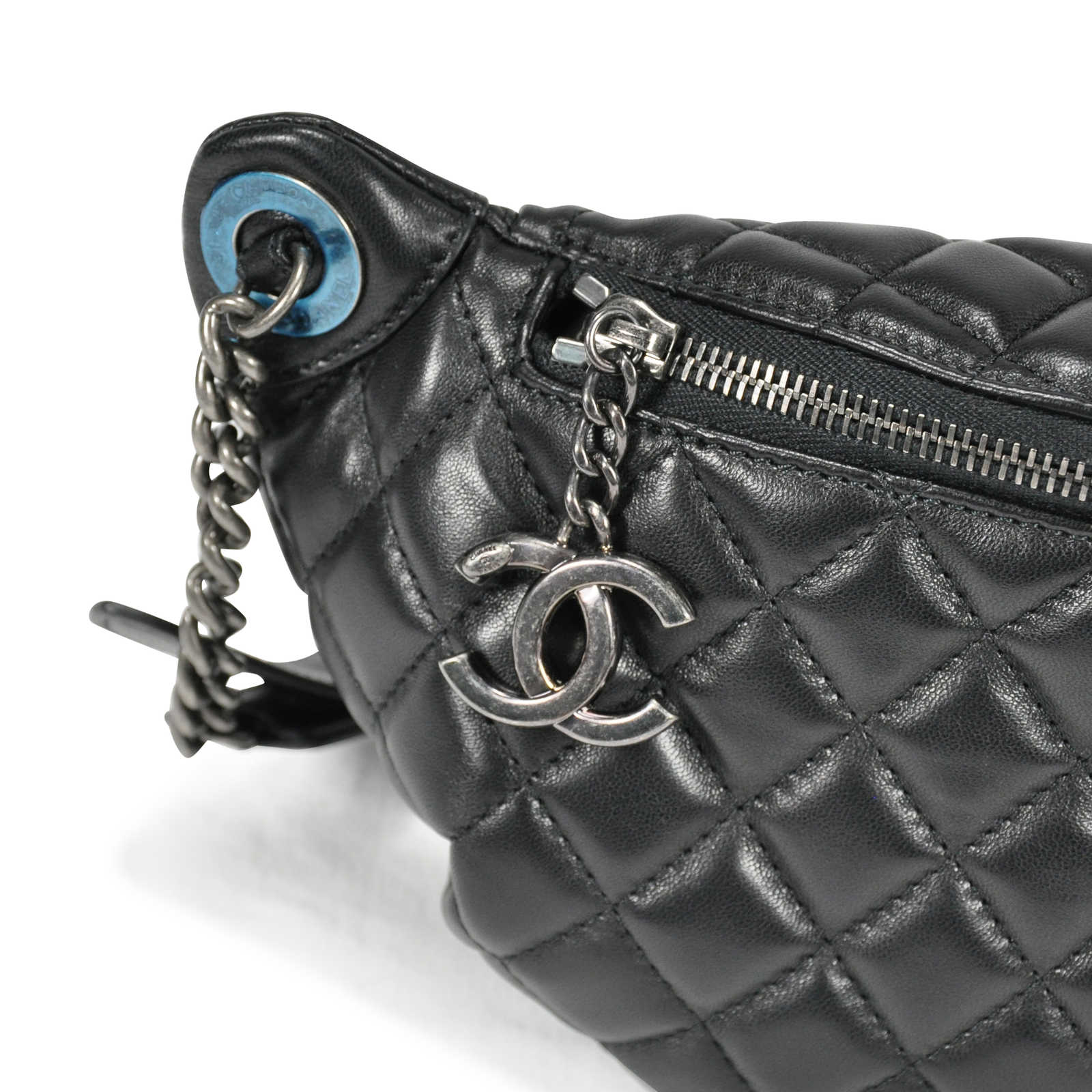 Authentic Second Hand Chanel Quilted Fanny Pack Waist Bag