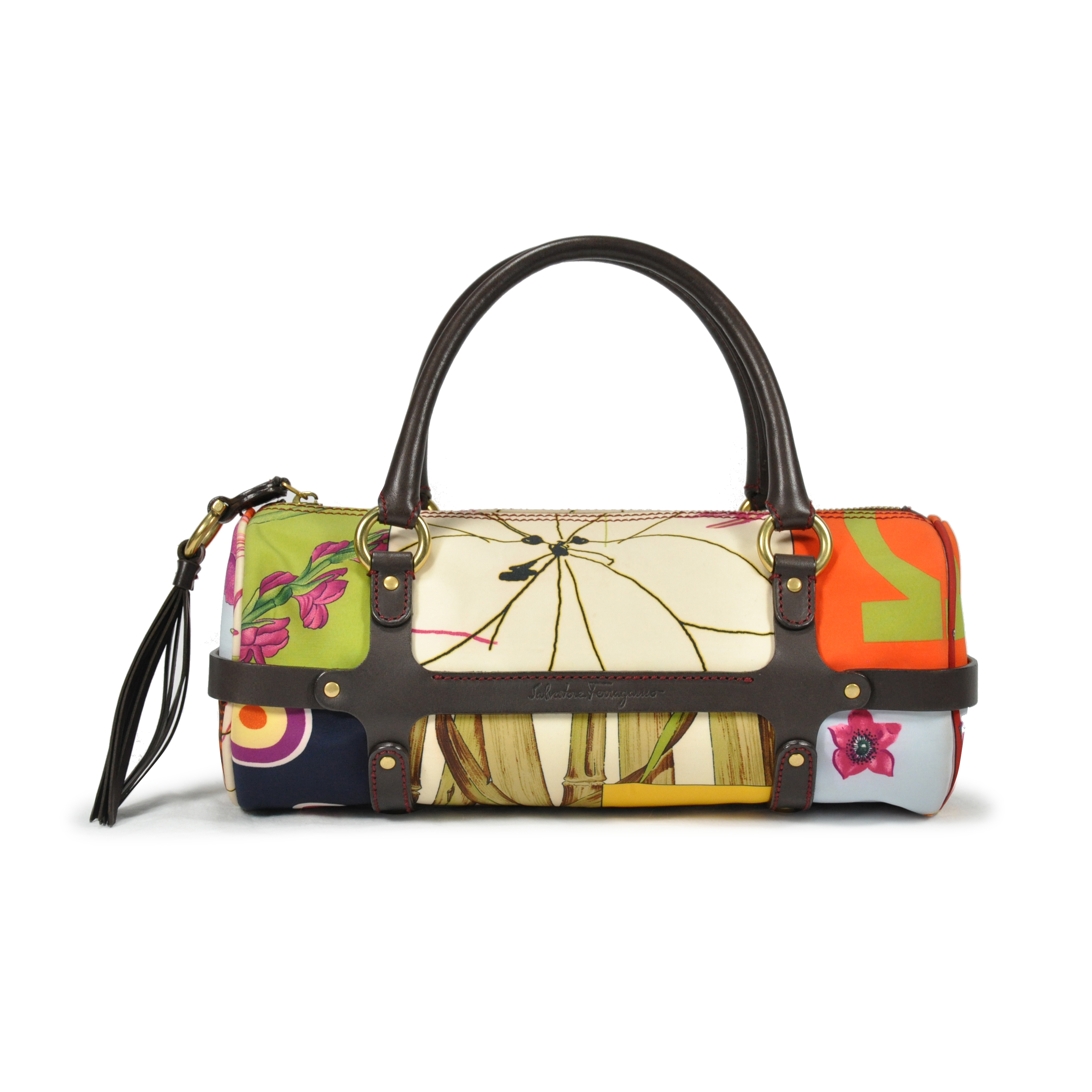 Authentic Pre Owned Salvatore Ferragamo Floral Print Bag (PSS-243-00001)    THE FIFTH COLLECTION® b4e1f24b6b