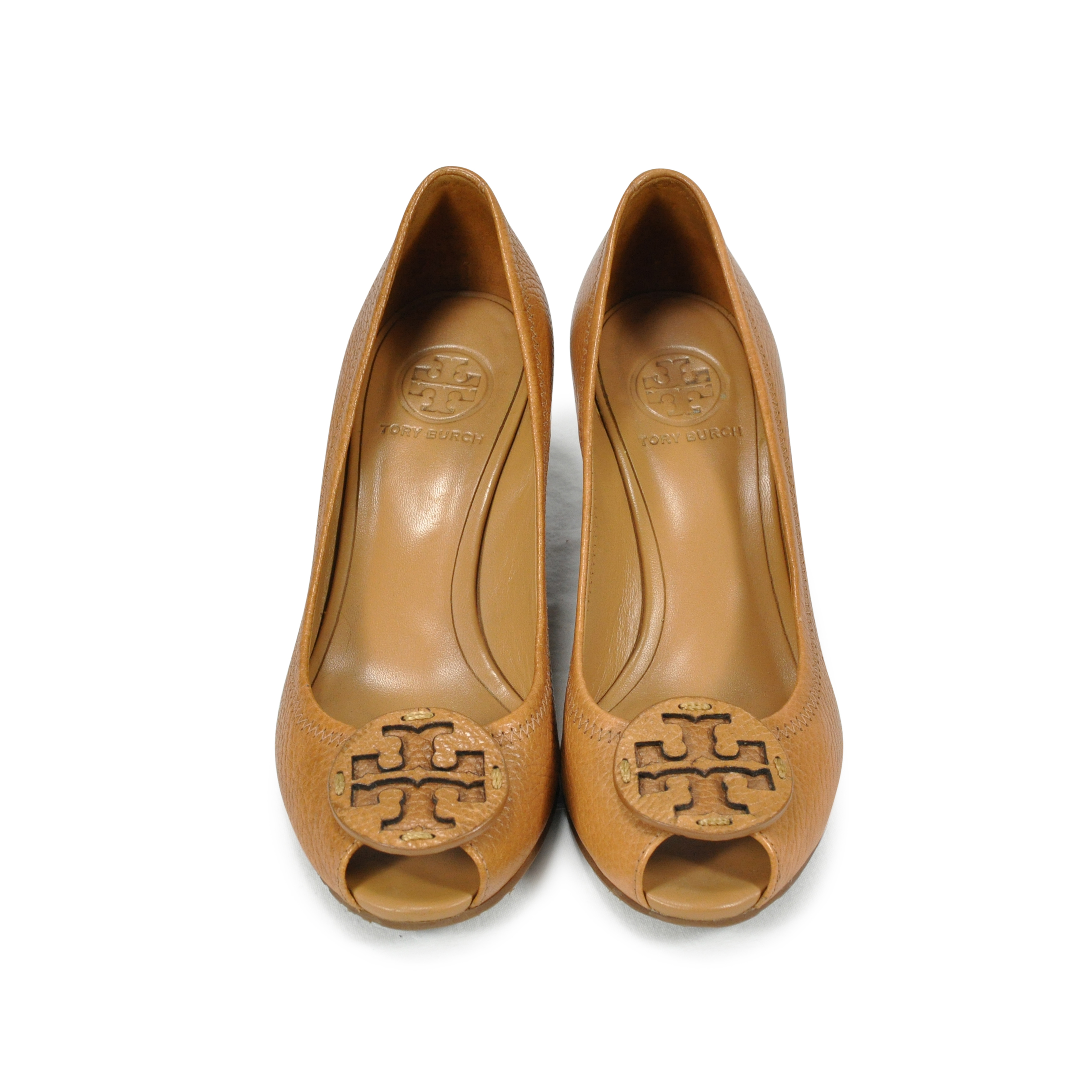 6e91afdf3 Authentic Second Hand Tory Burch Sally Peep Toe Wedges (PSS-243-00003)