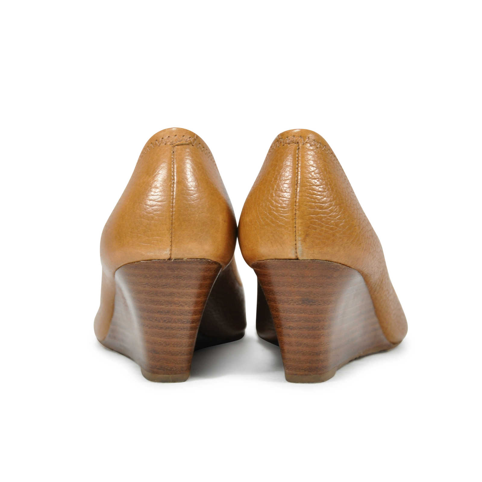 faeef42bf ... Authentic Second Hand Tory Burch Sally Peep Toe Wedges (PSS-243-00003)