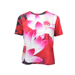 Lotus Print T-Shirt