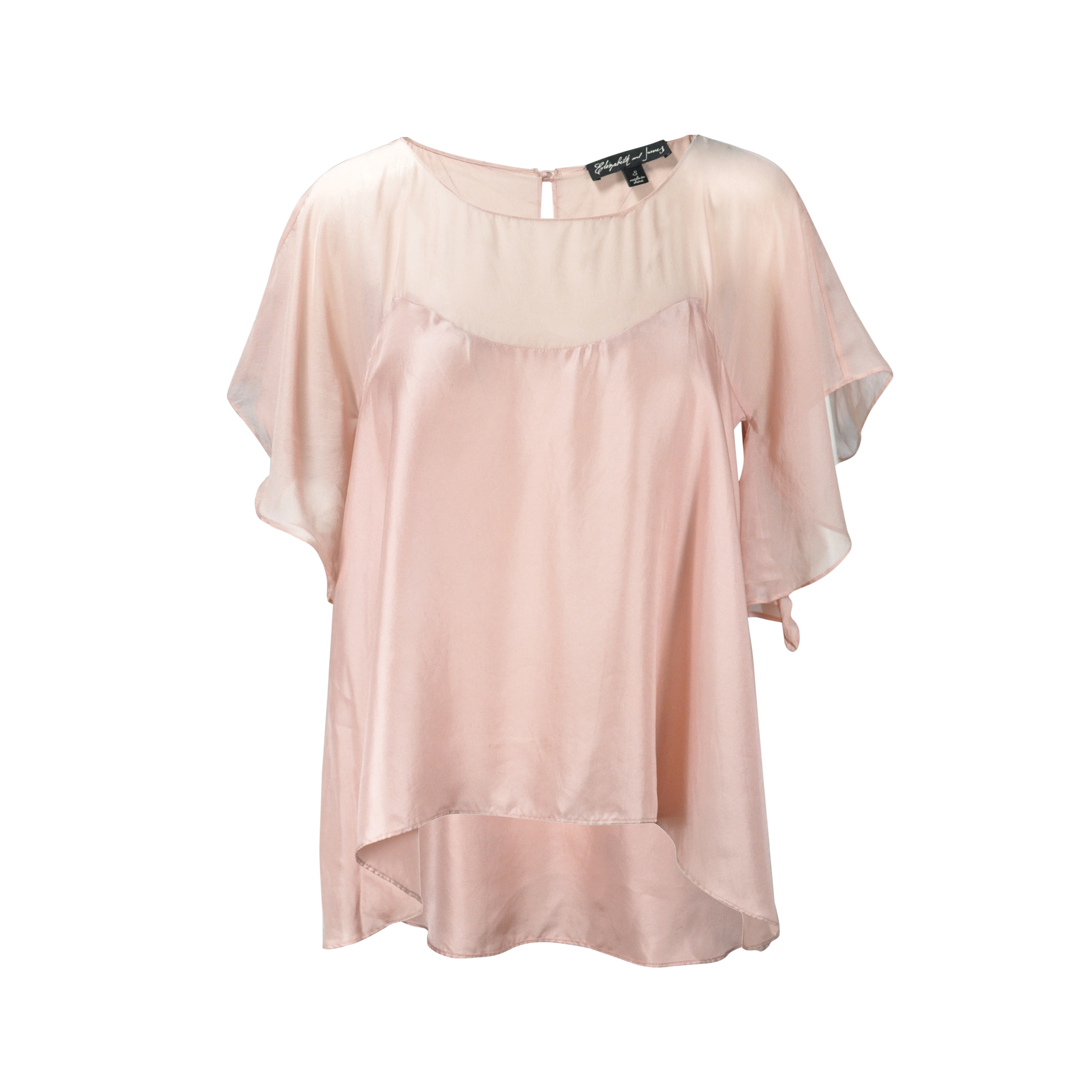 7273252fcda465 Authentic Second Hand Elizabeth and James Silk Butterfly Top  (PSS-200-00126)