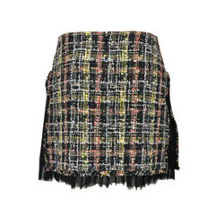 Chanel tweed skirt with ruffle sides 3