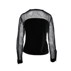 Givenchy mesh pony hair blouse 2