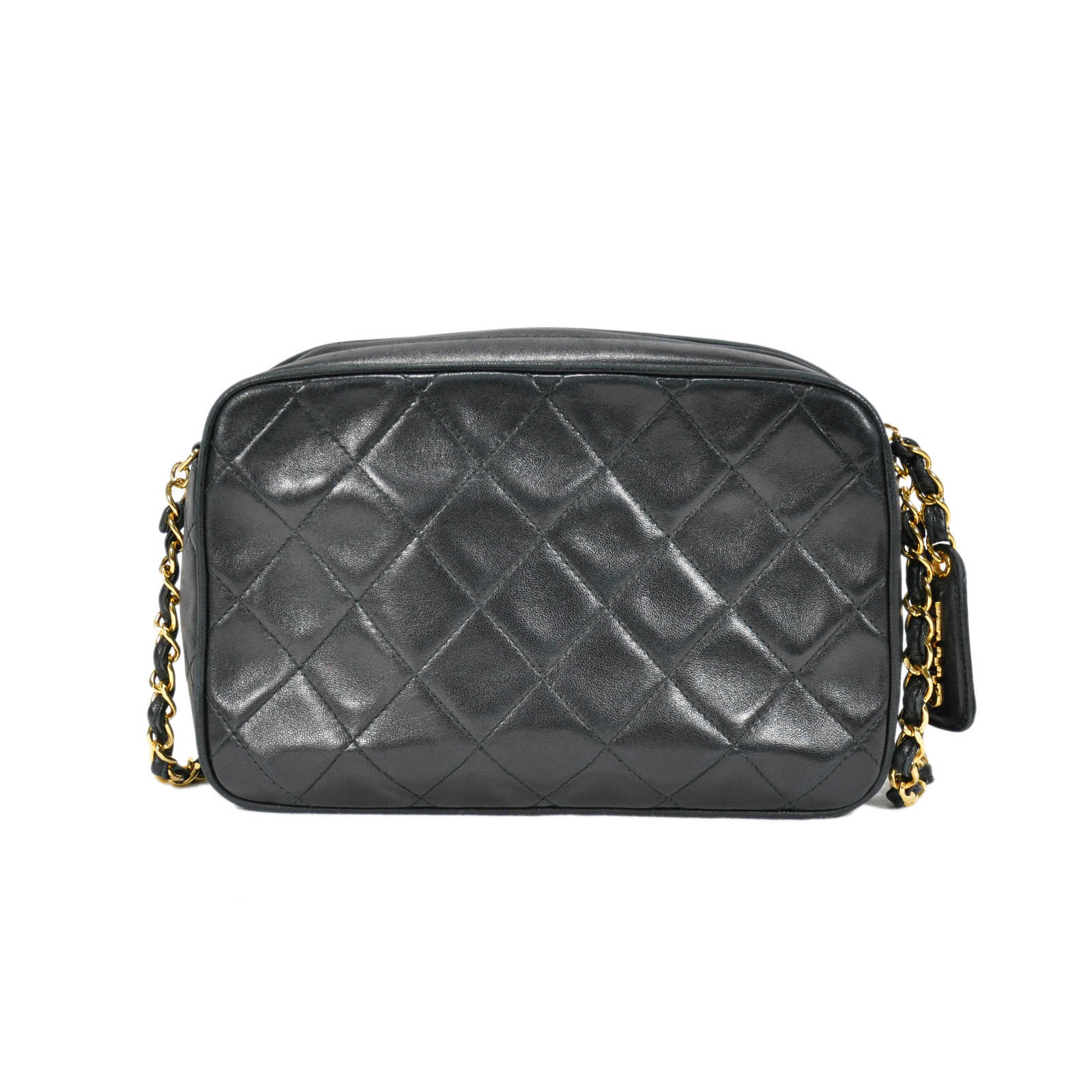 90c432cd8381 ... Authentic Second Hand Chanel Quilted Classic Camera Bag (PSS-236-00004)  ...