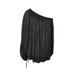 L agence pleated toga top 2