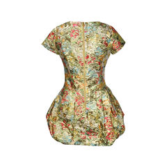 Moschino floral print with gold 2