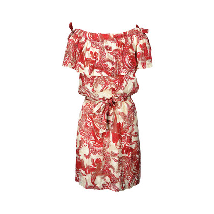Authentic Second Hand Paul & Joe Paisley Belted Dress (PSS-236-00009)
