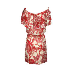 Paul joe paisley belted dress 2