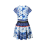 Authentic Second Hand Nicholas Abstract Floral Pleat Dress (PSS-236-00010) - Thumbnail 0