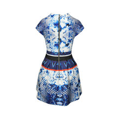Nicholas abstract floral pleat dress 2
