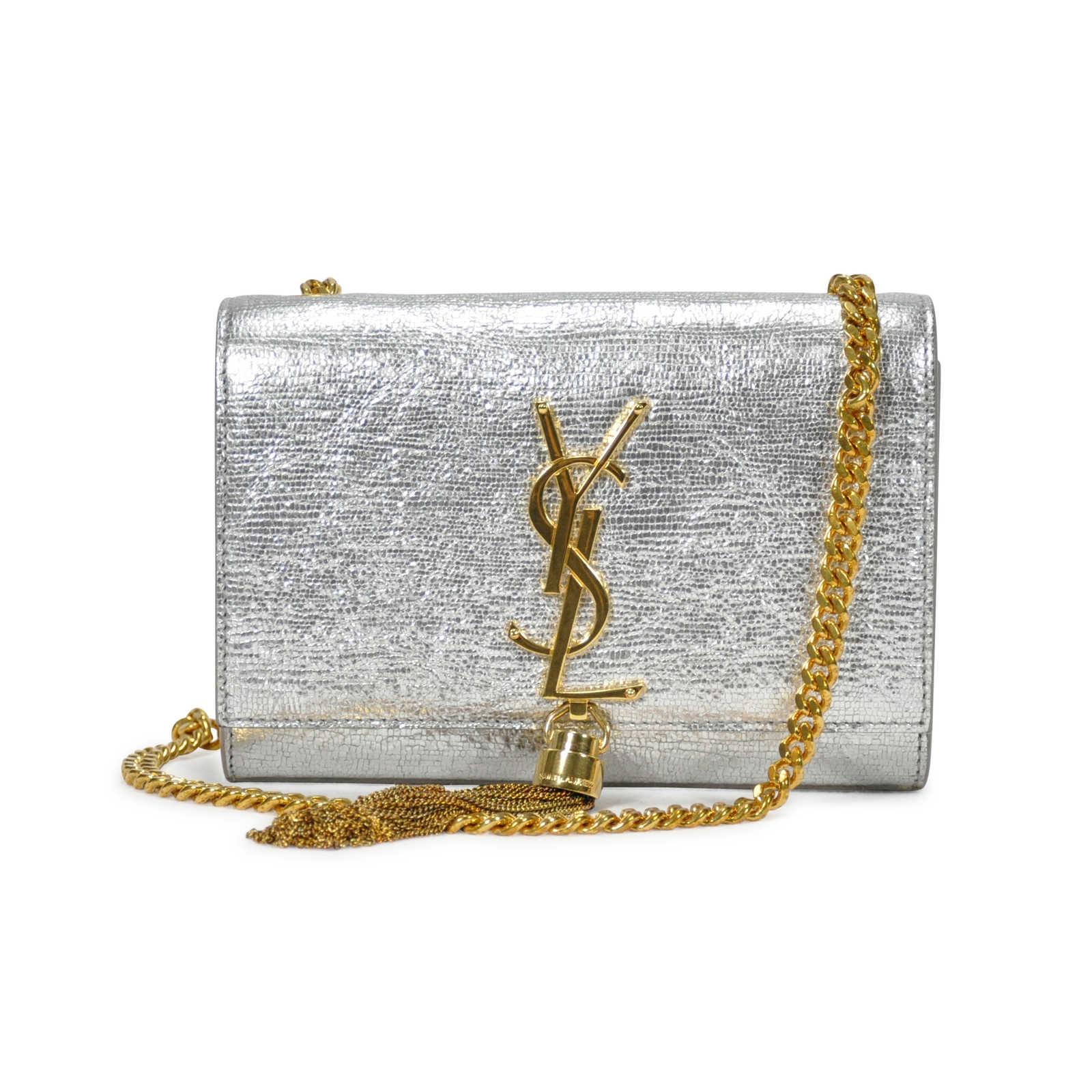 68cdbb40dad Small Cassandre Leather Shoulder Bag Saint Laurent