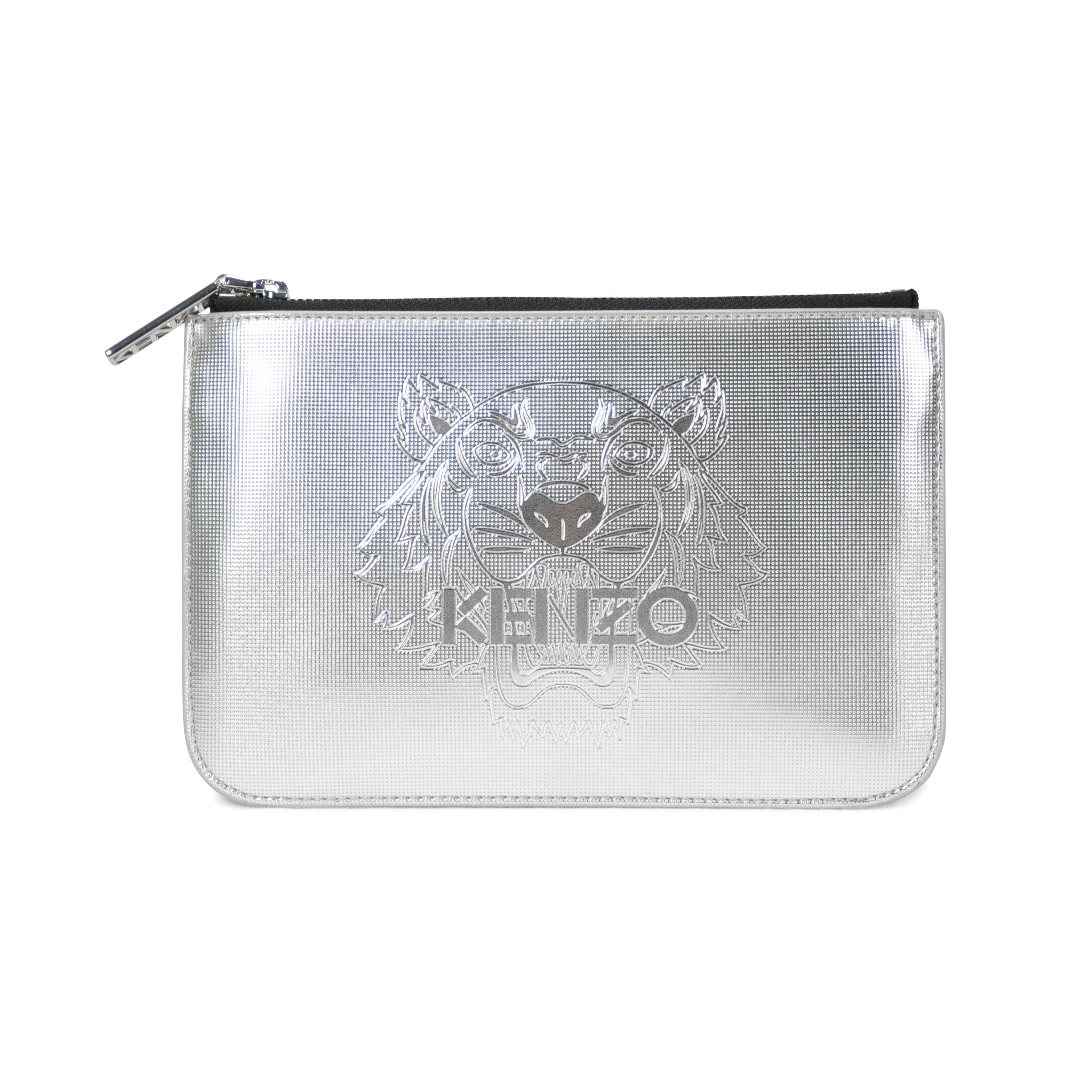 5355c3fb32e Authentic Second Hand Kenzo Tiger Metallic Clutch (PSS-114-00012) - THE  FIFTH COLLECTION