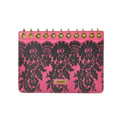 Moschino lace notebook clutch 2