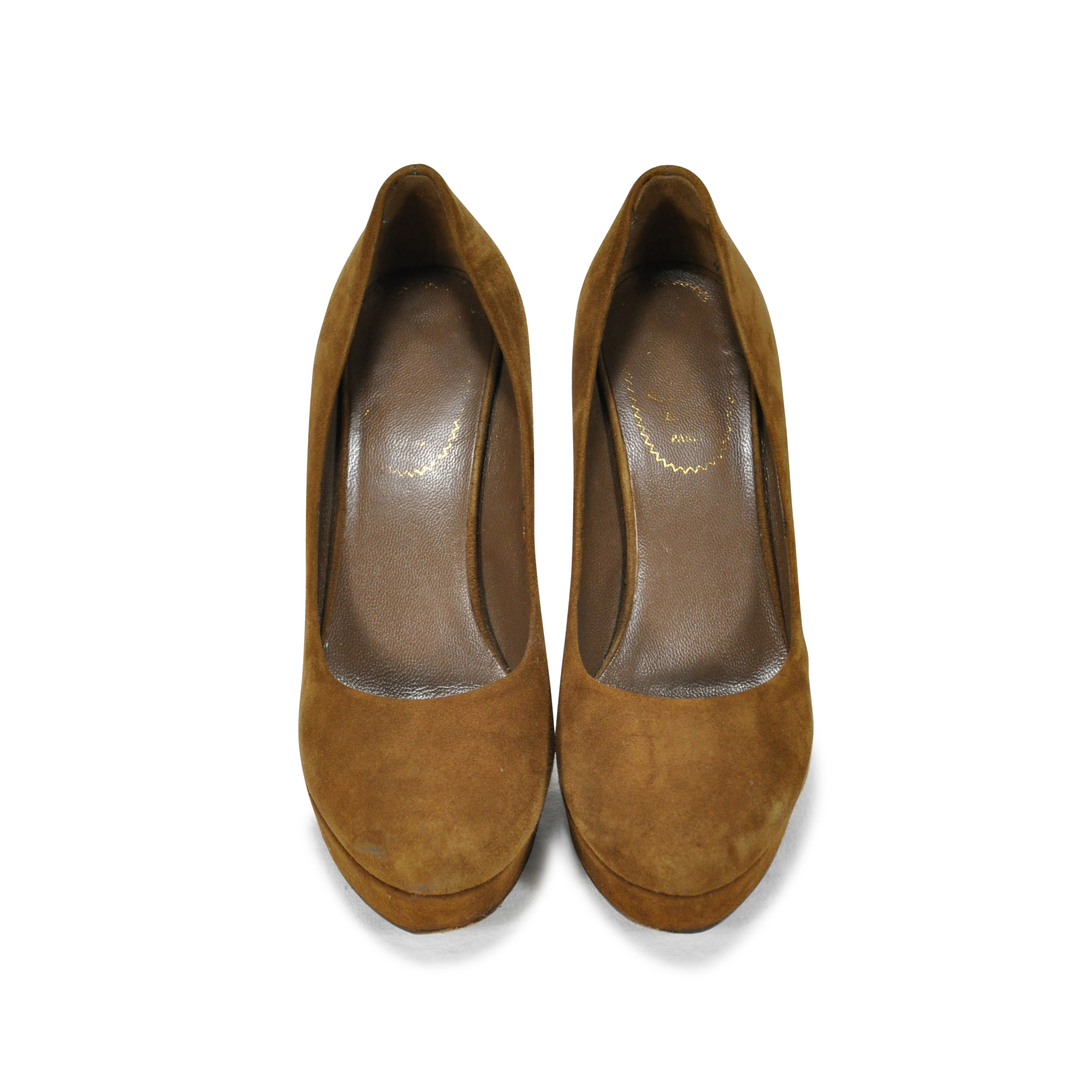 a29a3f5850f Authentic Second Hand Yves Saint Laurent Suede Palais Pumps (PSS-236-00003)  - THE FIFTH COLLECTION