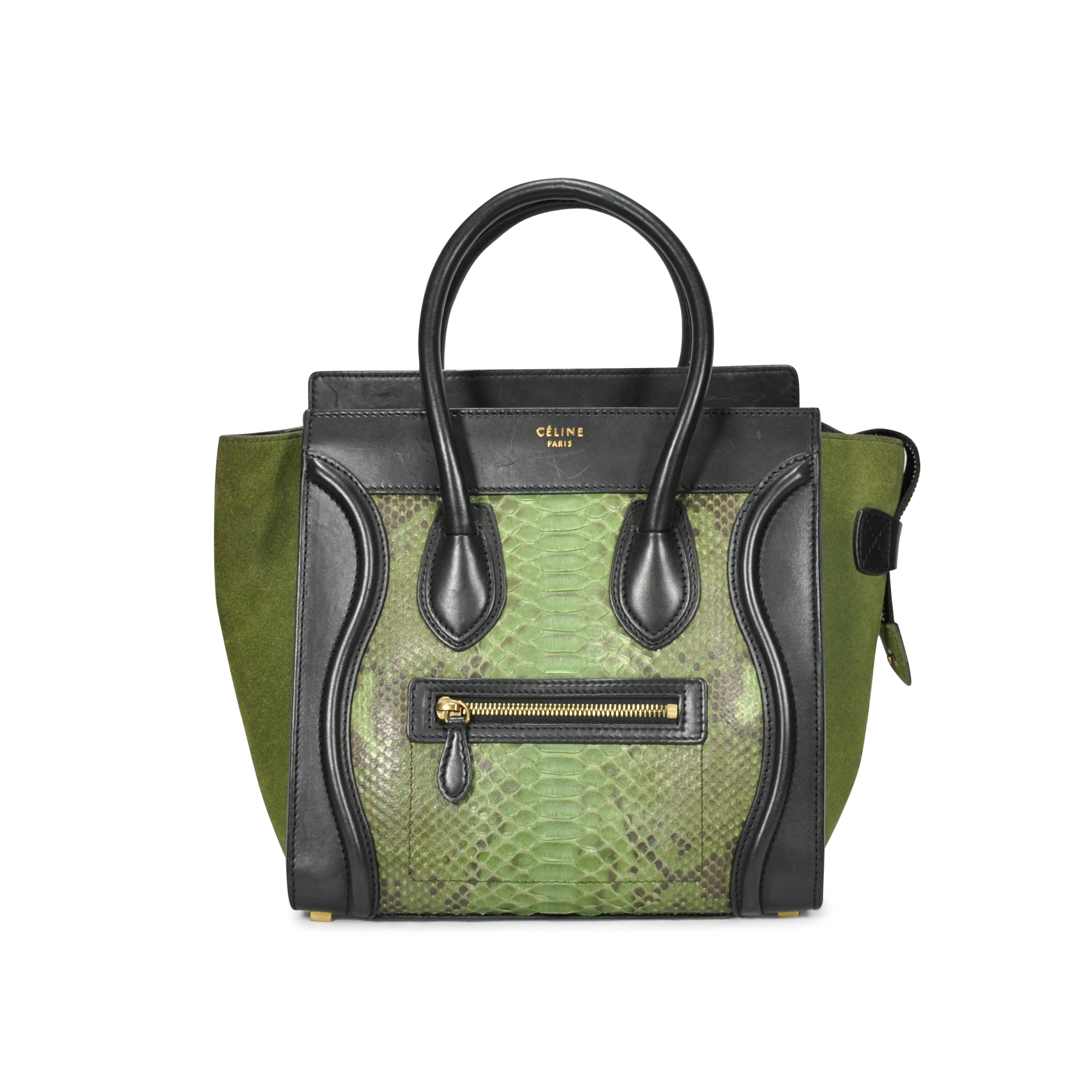 a499c691a8c4 Authentic Second Hand Céline Python Micro Luggage (PSS-249-00001 ...