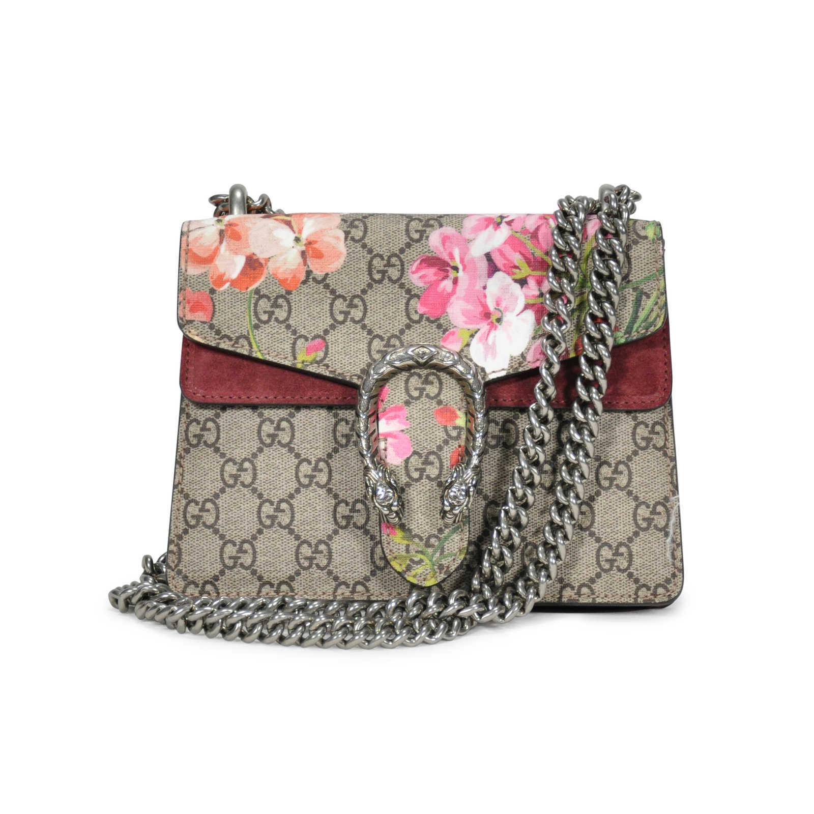8edb66c952a5 Authentic Second Hand Gucci Dionysus Blooms Mini Shoulder Bag  (PSS-249-00004) ...