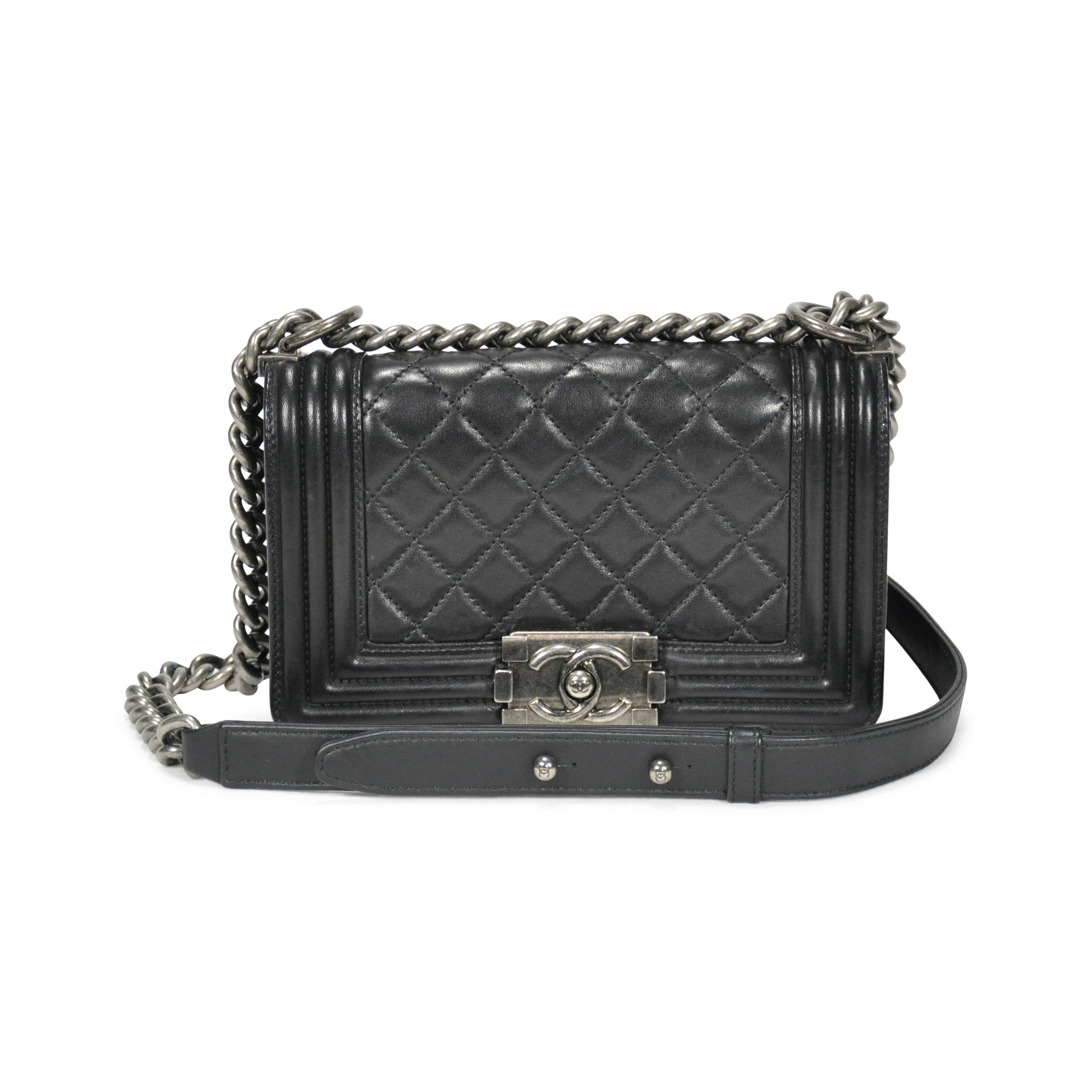 6490e0b33da3 Authentic Second Hand Chanel Small Boy Bag (PSS-249-00005) | THE FIFTH  COLLECTION