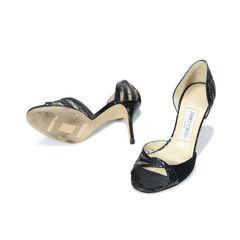 Jimmy choo snakeskin lace sandals 2