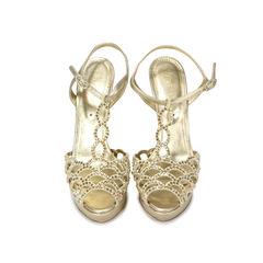 Jeweled T Strap Sandals