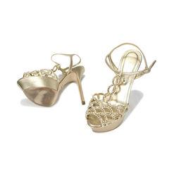 Sergio rossi jeweled t strap sandals 2