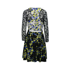 Peter pilotto for target floral print belted dress 2