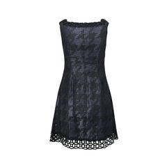 Anna sui lattice trimmed dress 2