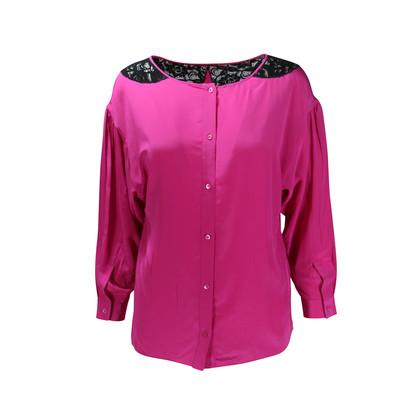 Miu Miu Silk Lace Top