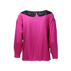 Miu miu pink silk top 2